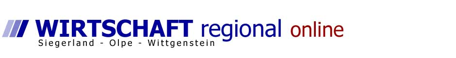 Wirtschaft regional online - Siegerland – Olpe – Wittgenstein