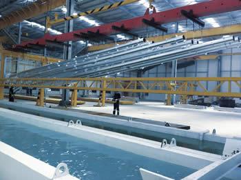 Die Siegener Verzinkerei Holding ist an der jetzt eröffnenten größten Verzinkerei in der Türkei beteiligt.