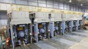 Fertiggerüste zur Produktion von Warmband mit hoher Qualität.