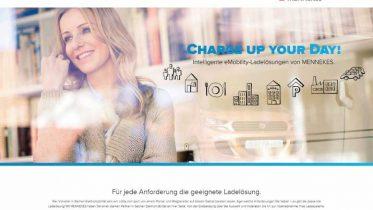 """Das neue Kommunikationskonzept """"Charge Up Your Day!"""" wird über ein modernes und ebenfalls neu entwickeltes Design transportiert."""