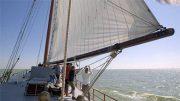 Gemeinsam die Segel setzen und raus aufs Meer – ein unvergessliches Erlebnis für die Georg-Azubis.