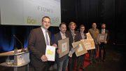 Unser Archivbild zeigt die Sieger 2015 des Gründerwettbewerbs der Wirtschaftsjunioren Südwestfalen. Ausgezeichnet wurden sie vom Vorsitzenden der Wirtschaftsjunioren, Timm Bendinger (links).