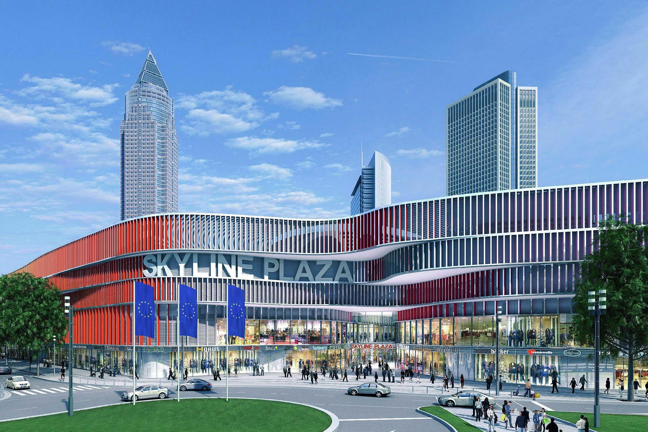 the coatinc company verzinkt und beschichtet ca 400 tonnen stahl f r das skyline plaza