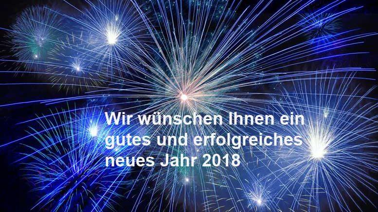 Gutes neue Jahr 2018 | Wirtschaft regional online